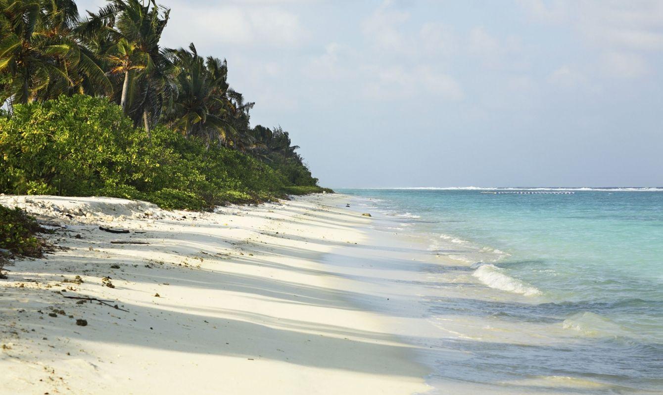 Hulhumale island. Republic of the Maldives