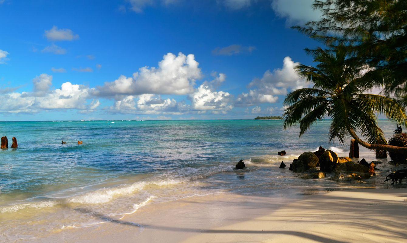 Beautiful holiday on the island of Saipan. The beautiful island of Saipan