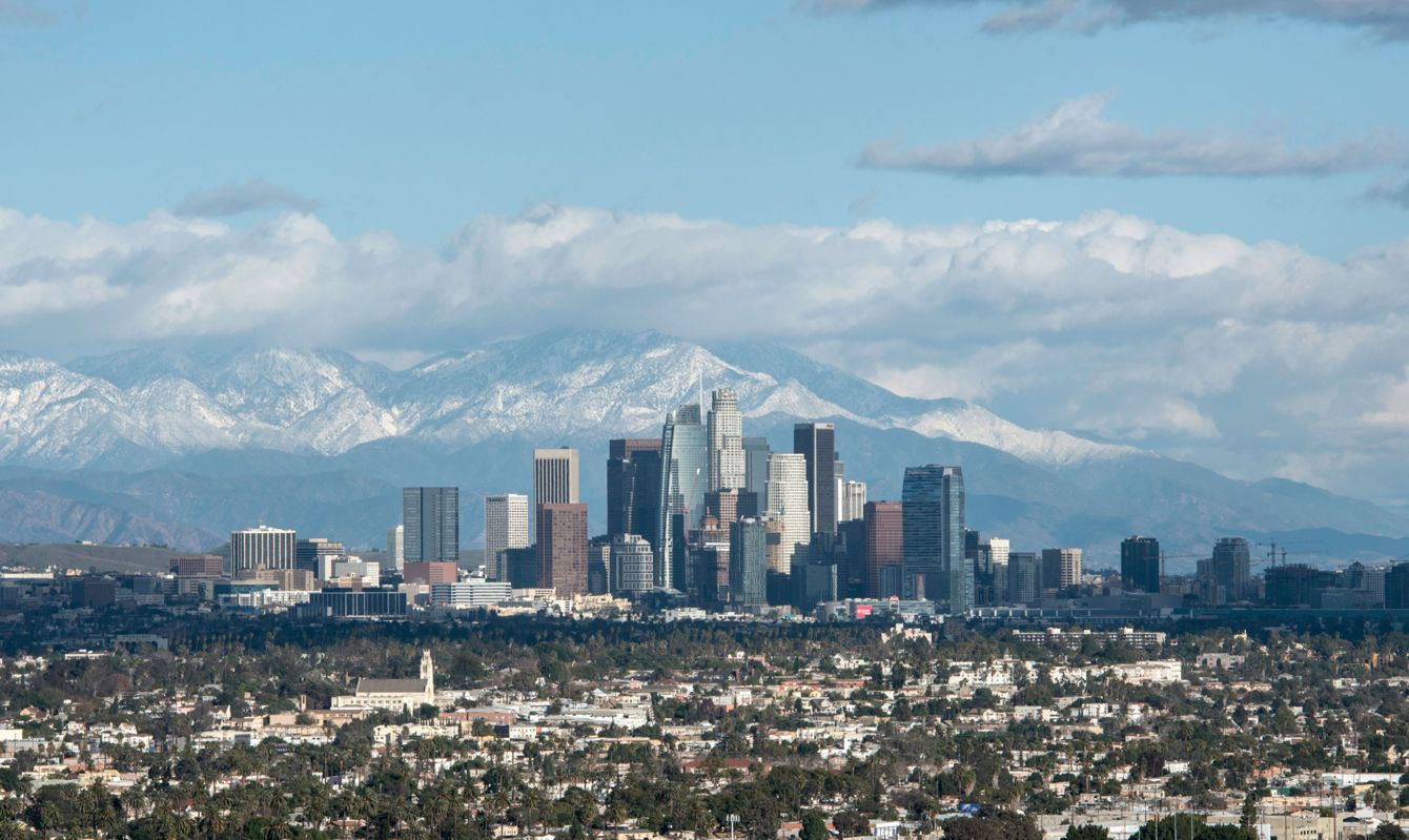 Los Angeles is the perfect urban getaway to escape snowy winter weather.