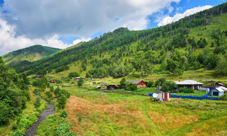 Pribaikalsky National Park. Irkutsk region. Russia