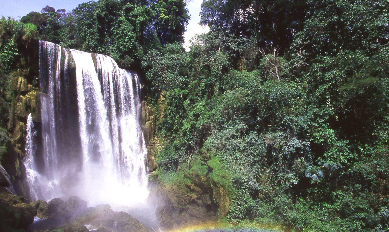 Pulhapanzak Waterfalls near Rio Lindo Honduras Central America