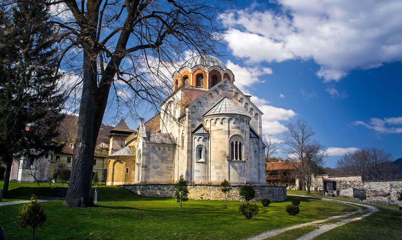 12th century Orthodox Monastery Studenica, Serbia