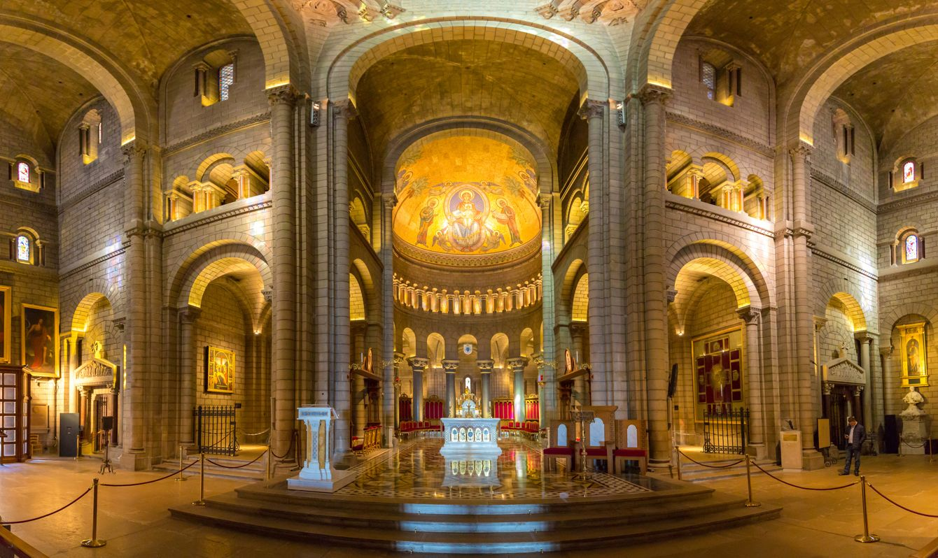 Monaco Saint Nicholas Cathedral Interior