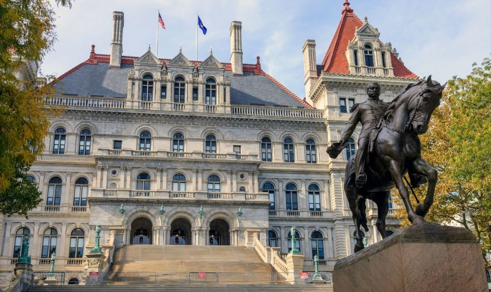 Albany state house new york