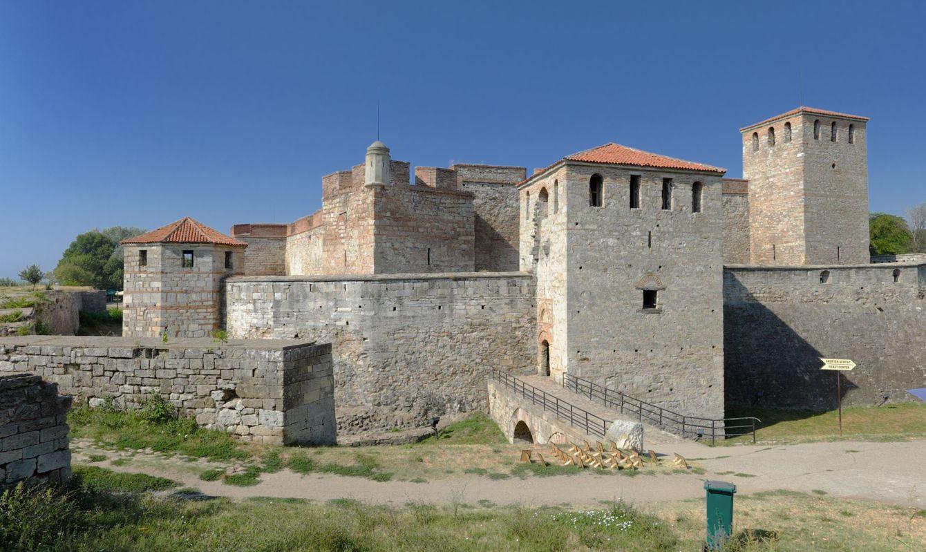 Baba Vida medieval fortress in Vidin, Bulgaria