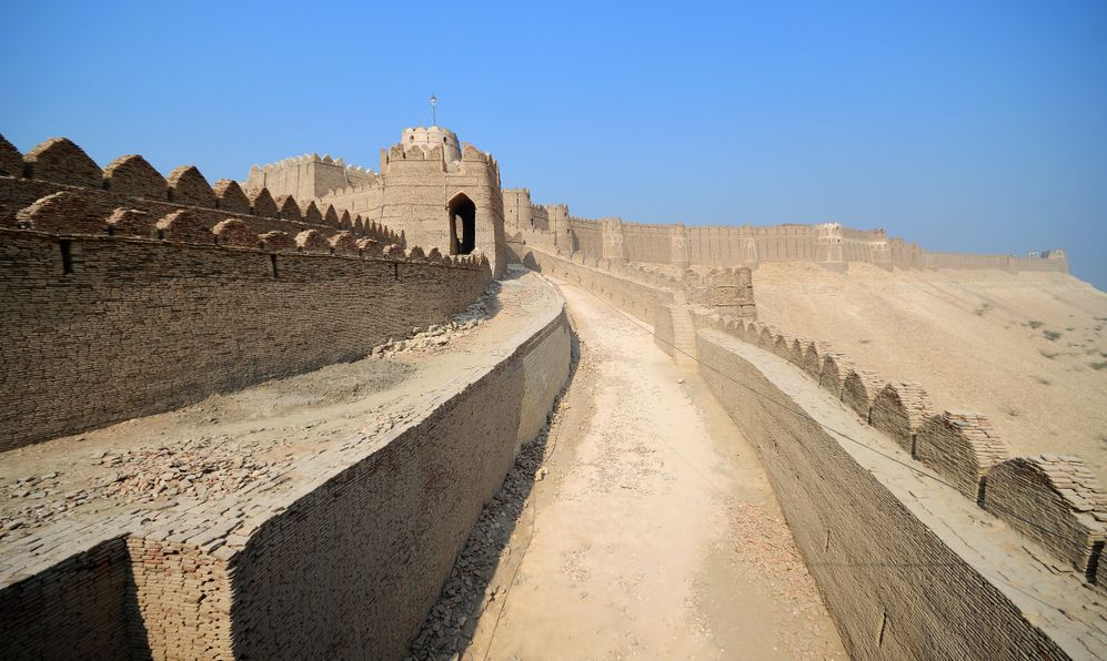 formally known as Fort Ahmadabad located in the town of Kot Diji in Khairpur District, Pakistan