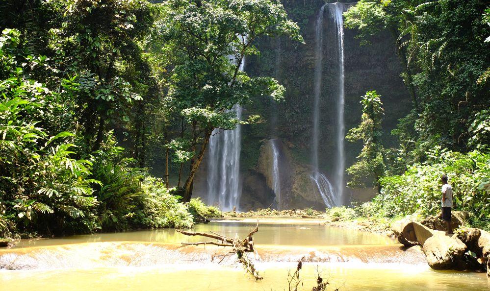 Tenaru waterfall, Guadalcanal Island, Solomon Islands
