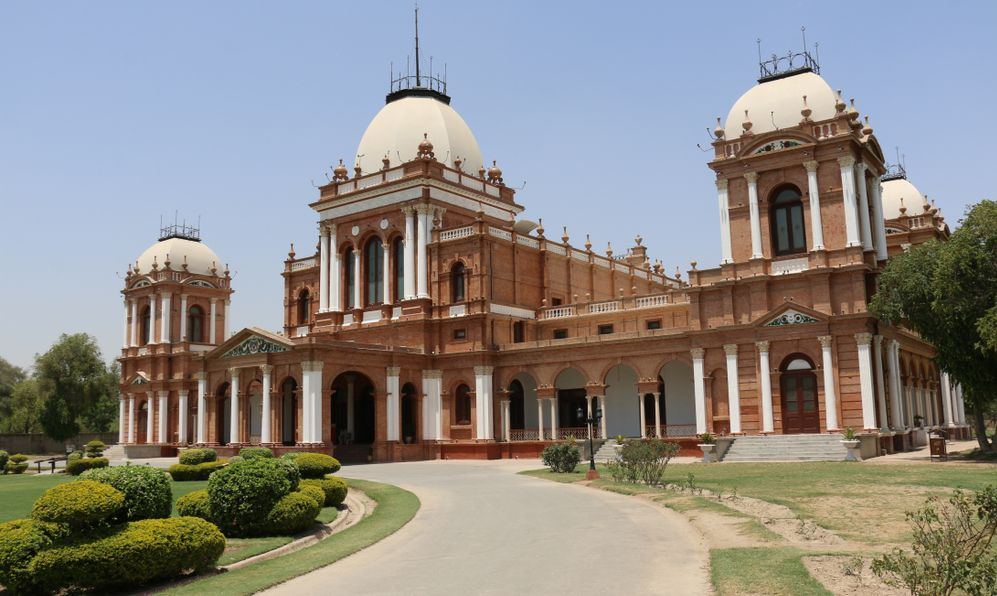 Ancient Architecture, Noor Mahal , Nawab of Bahawalpur Noor Palace, Bahawalpur, Pakistan