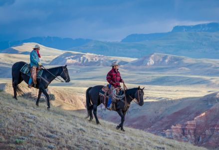 Experience the Wild West in Wyoming