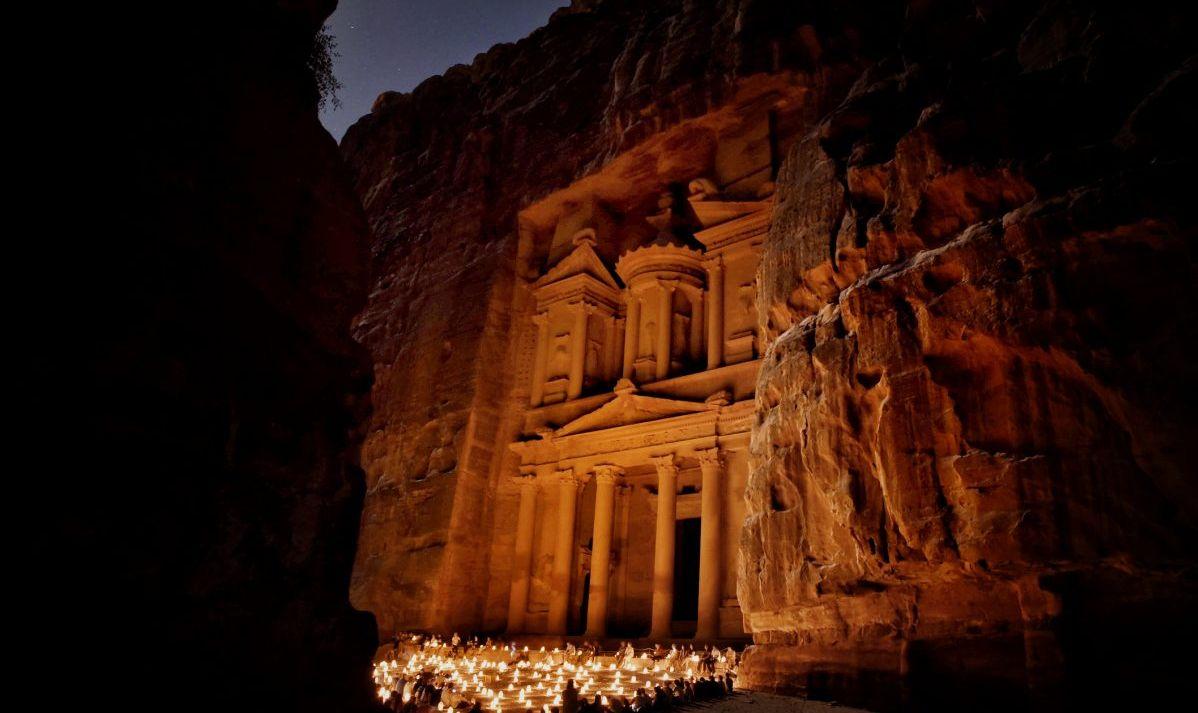 Petra Night Candles