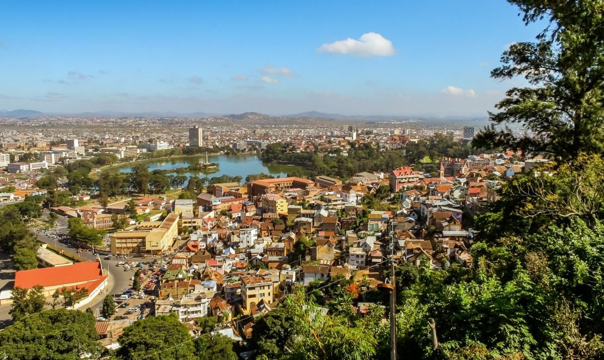 A postcard-worthy view of Antananarivo.