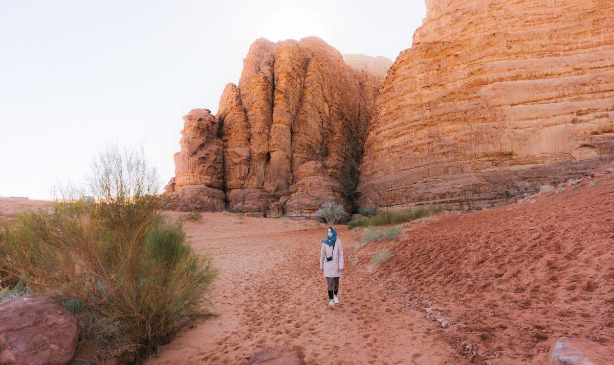 Jordan Trail Walk