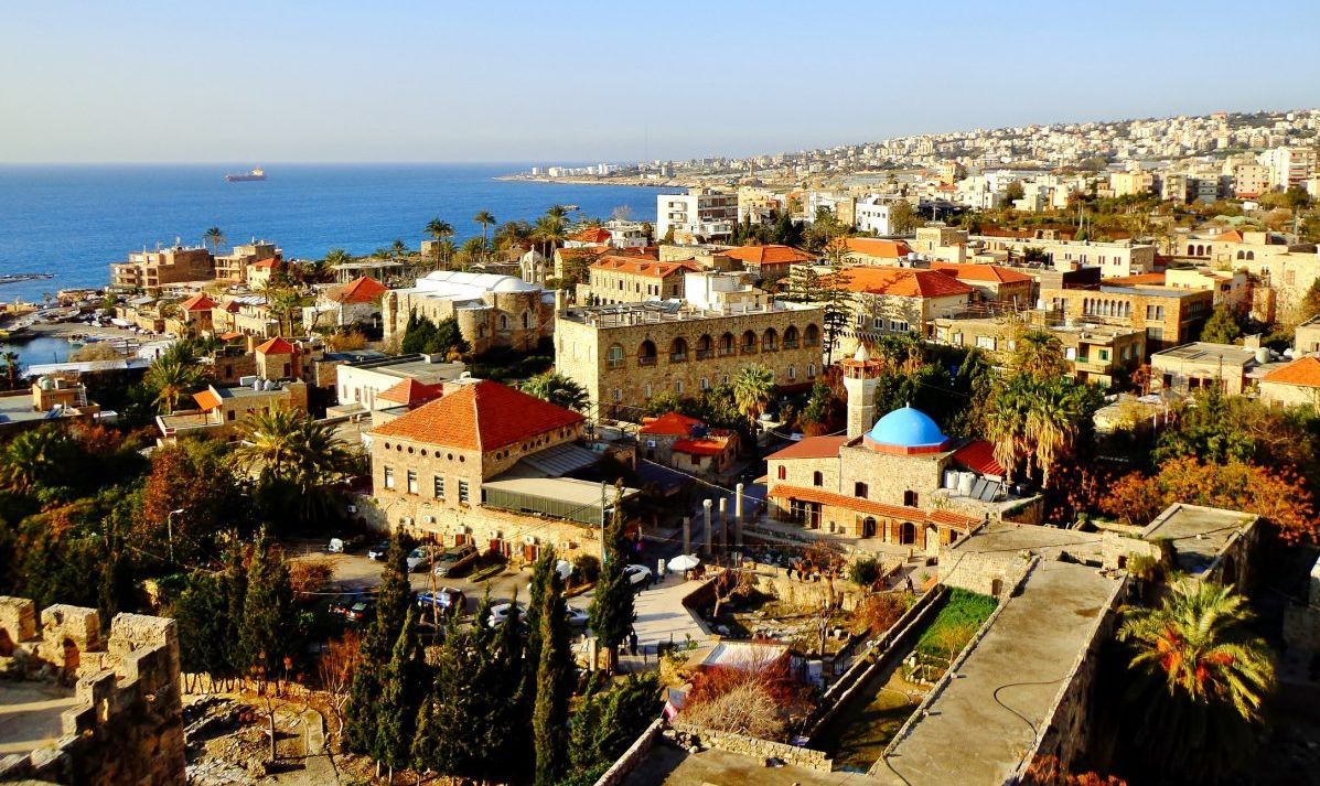The stunning Mediterranean town of Byblos.