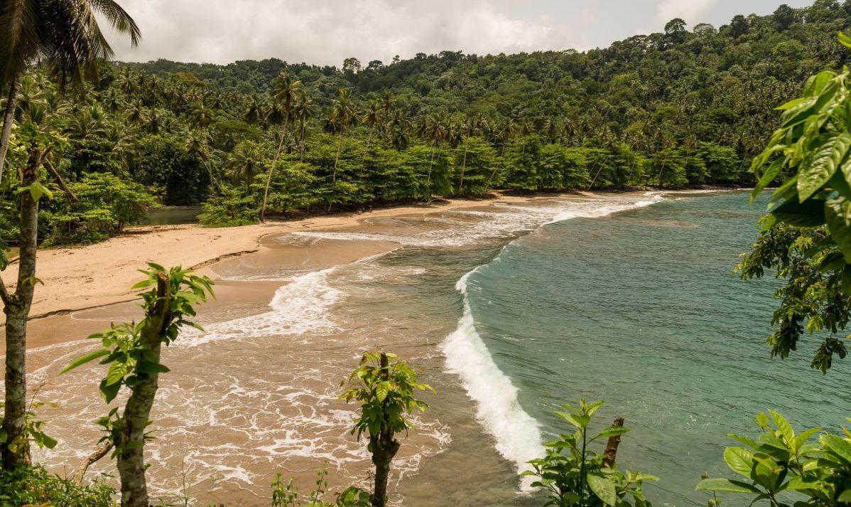 The visual enchantment of Sao Tome and Principe.