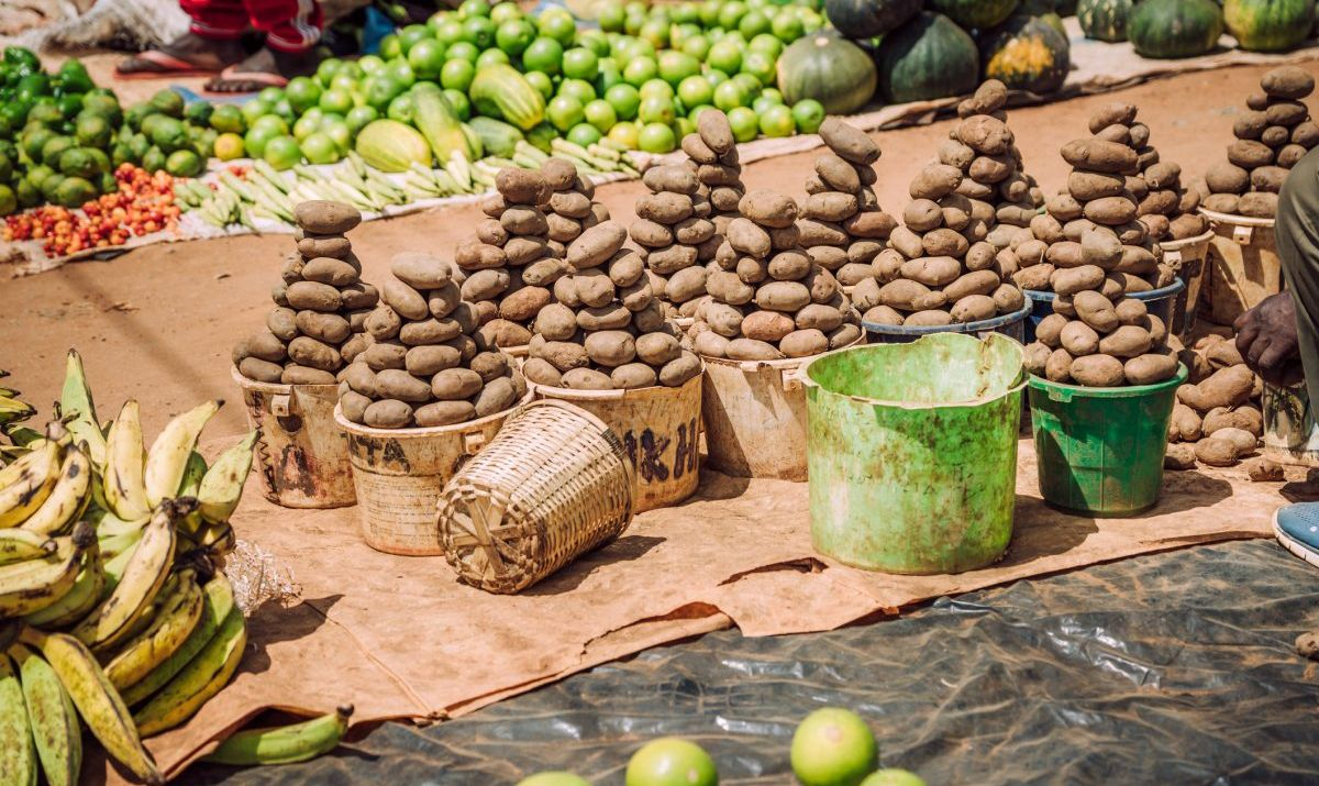 Experience the sights and sounds of Lilongwe's lively market.