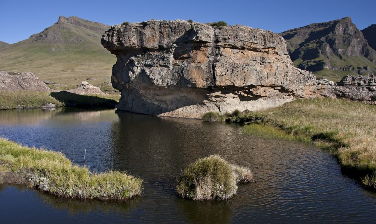 Lesotho's rooftop: Sehlabathebe National Park.