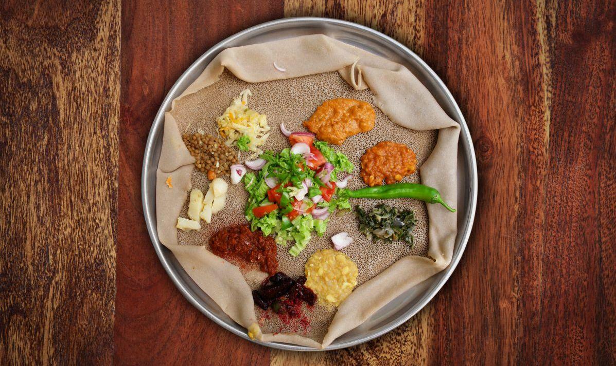 Djibouti Injera Meal