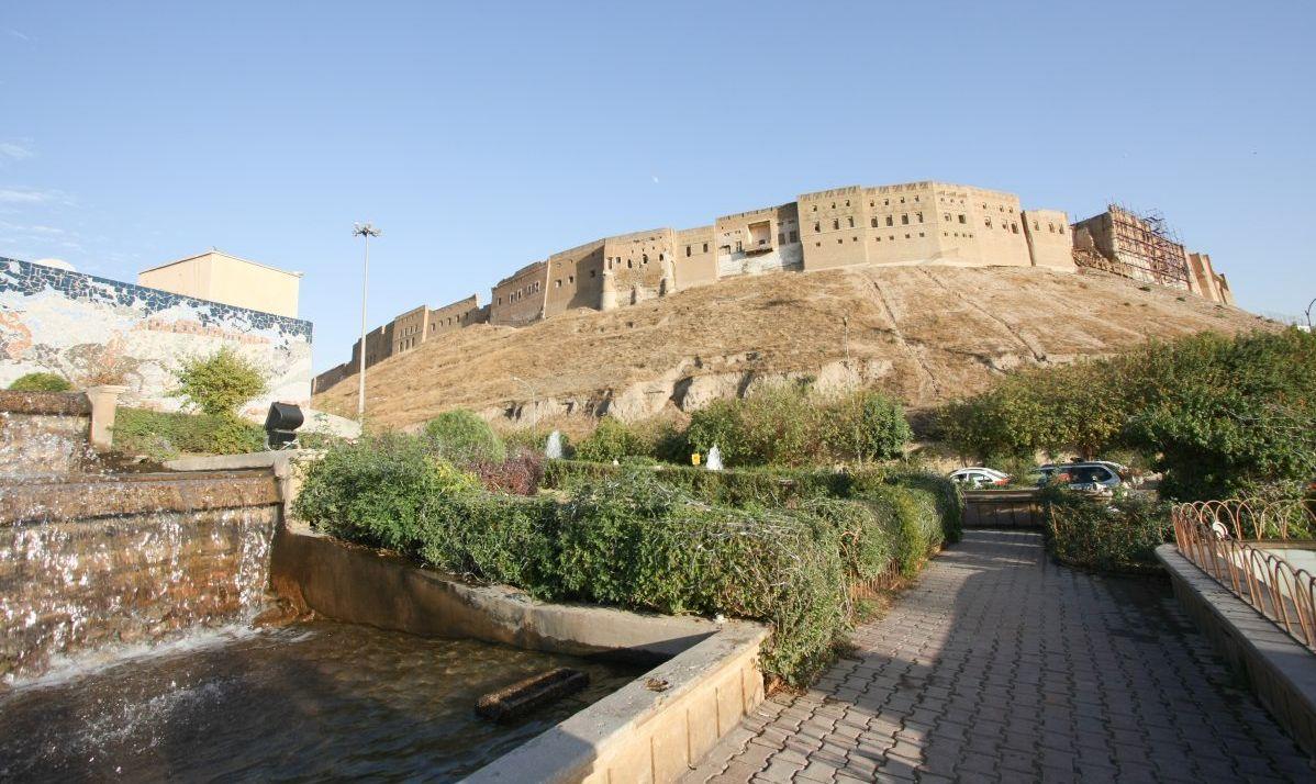 The Erbil Citadel, Kurdistan