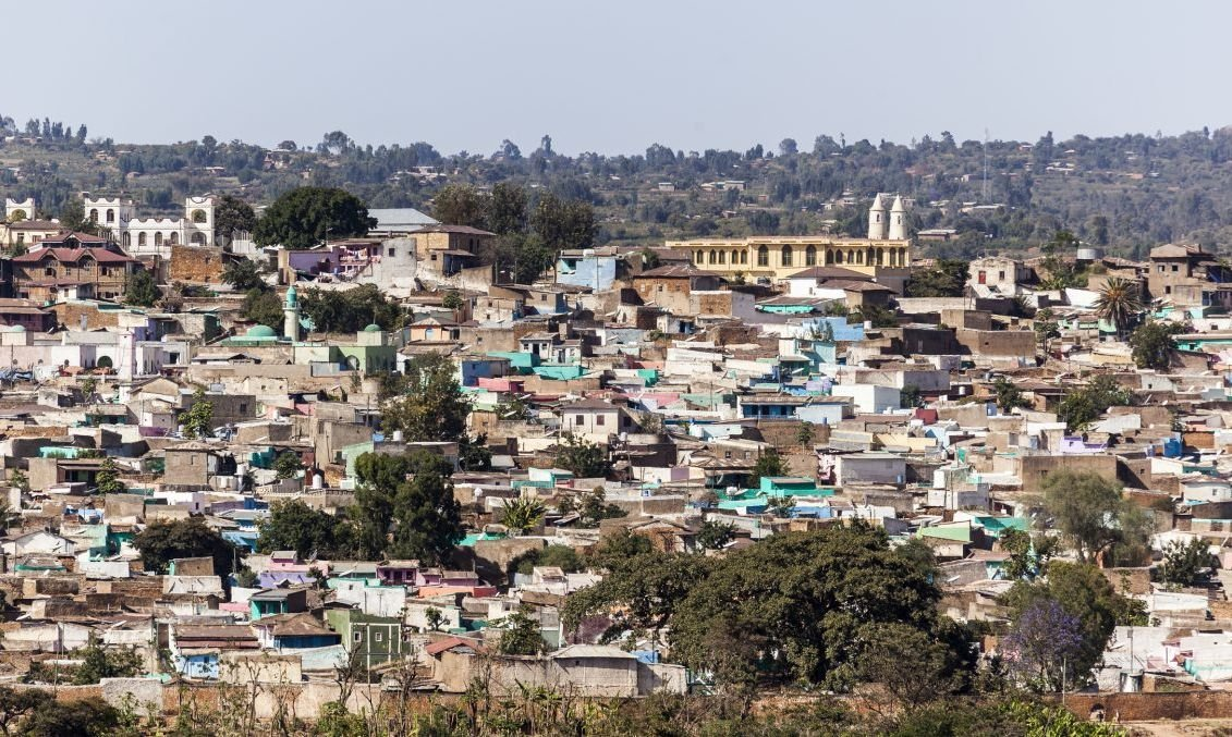 The ancient city of Harar