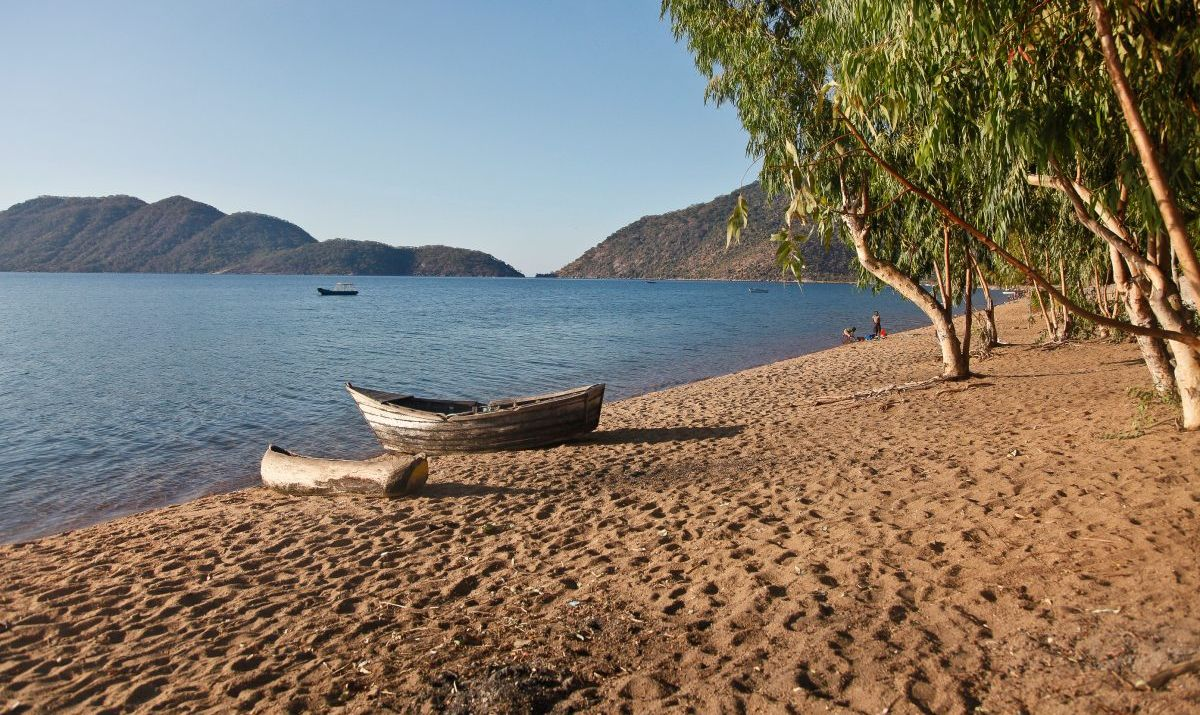 Canoeing and kayaking are favorite activities on beautiful Lake Malawi.