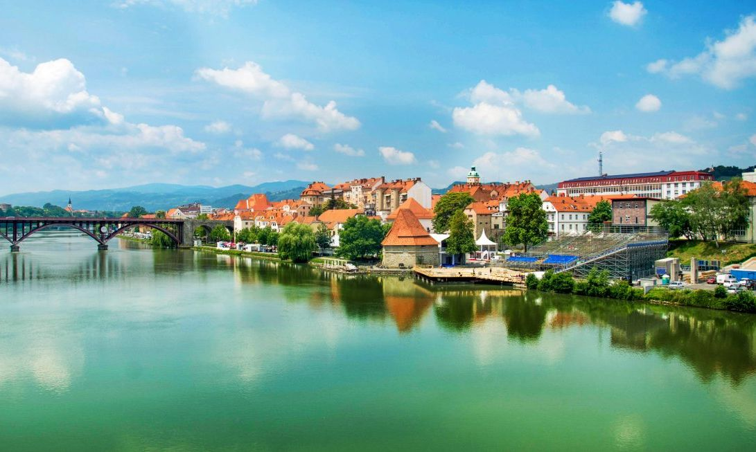 The breathtaking city of Maribor.