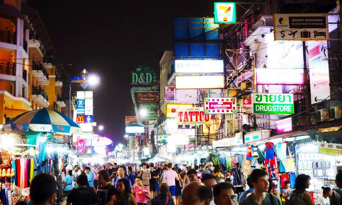 Khao San Road at Night