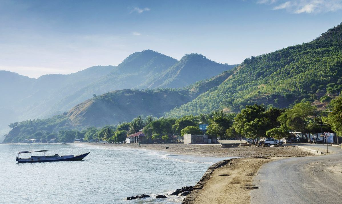 Many travelers visit Timor-Leste to hike its mountains.