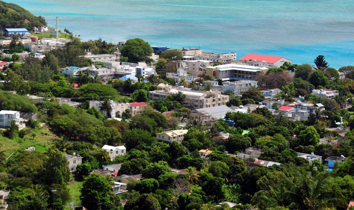 Port Mathurin, capital of Rodrigues island, Mauritius