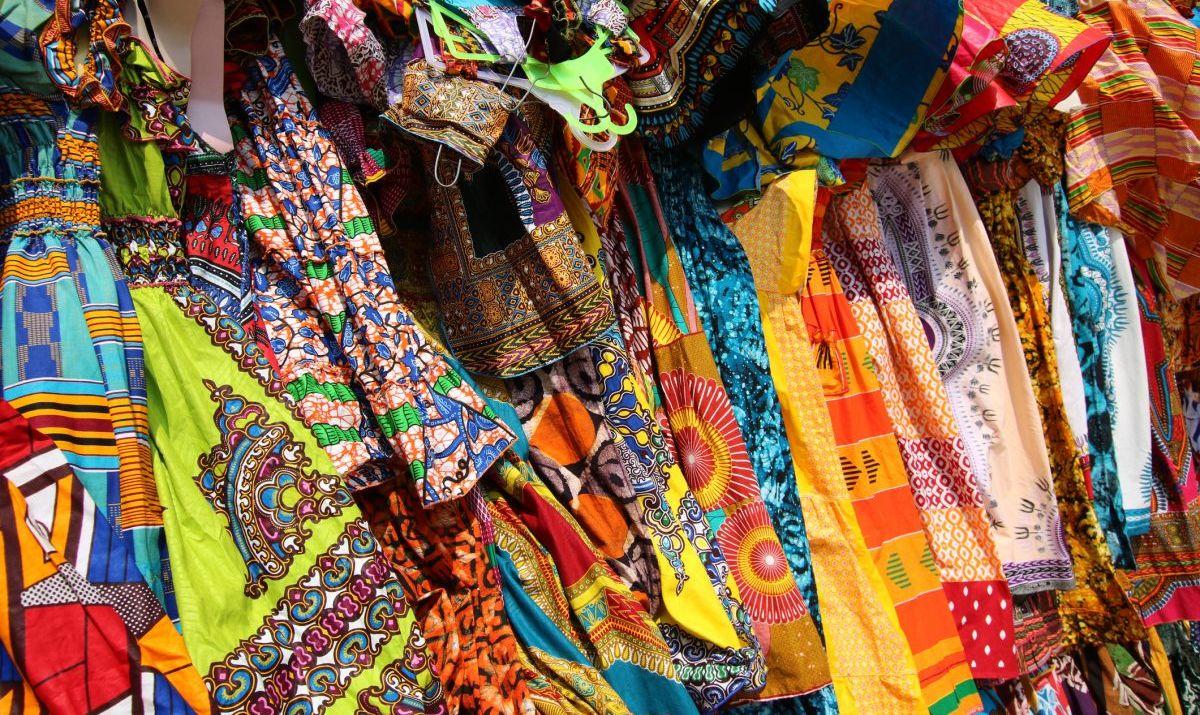 Textiles at Togo Market