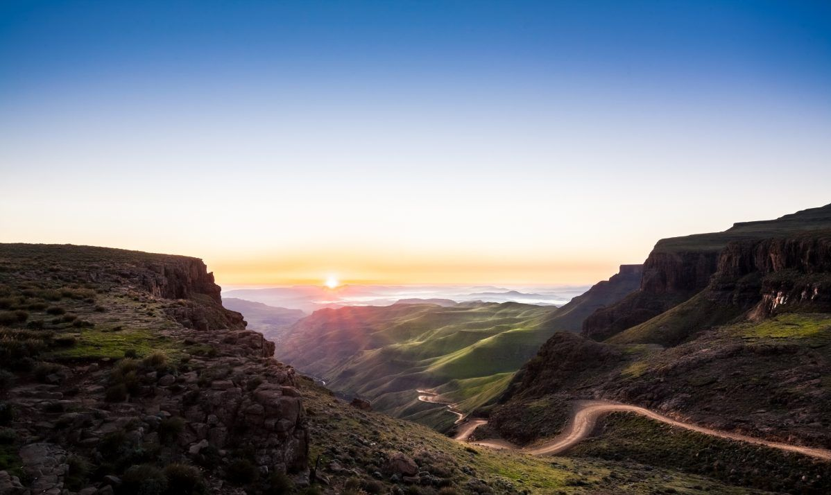 The unspoilt beauty of Lesotho's highlands.