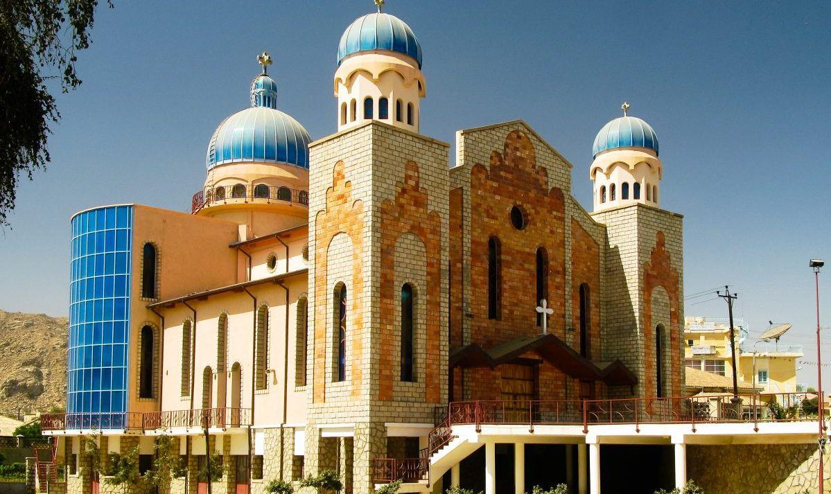 San Antonios Church in the city of Keren.