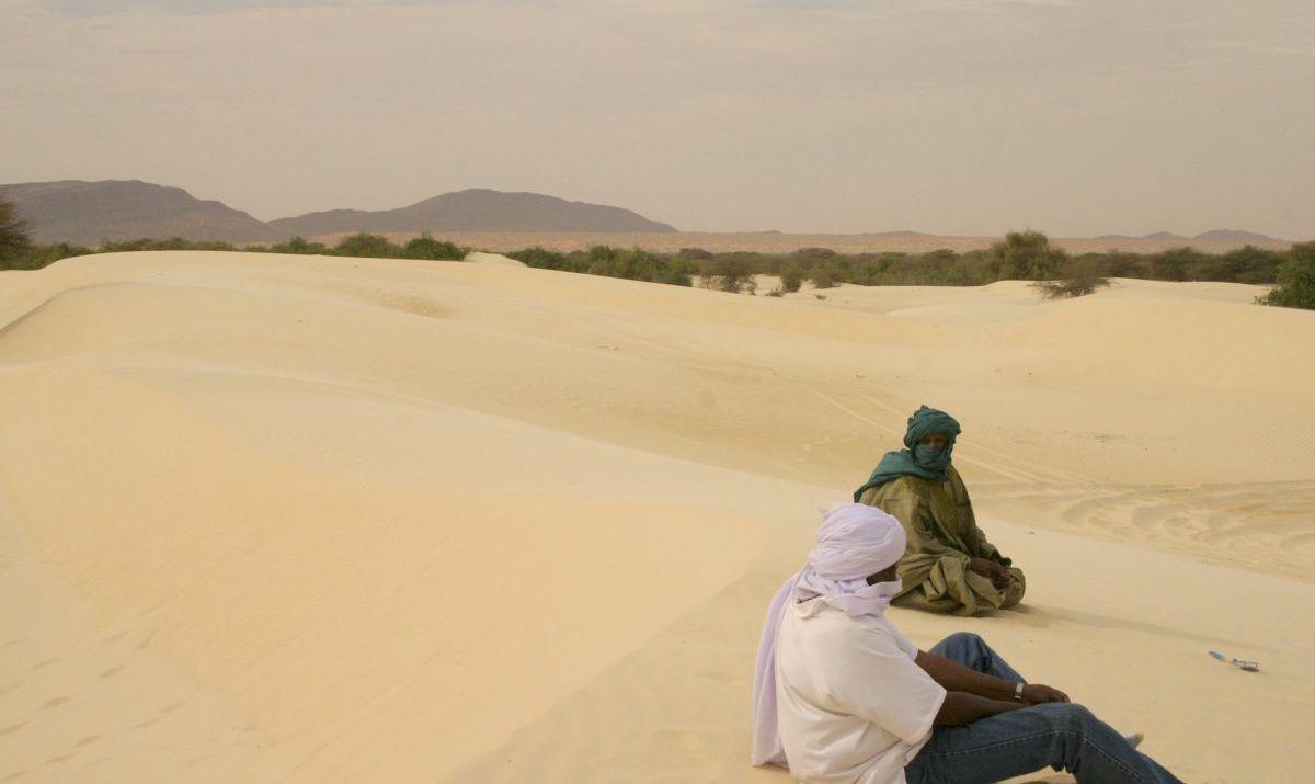 Sand dunes of sub-Saharan Mali