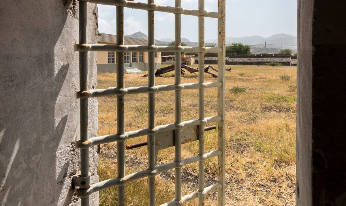The abandoned prison camp of Tarrafal.