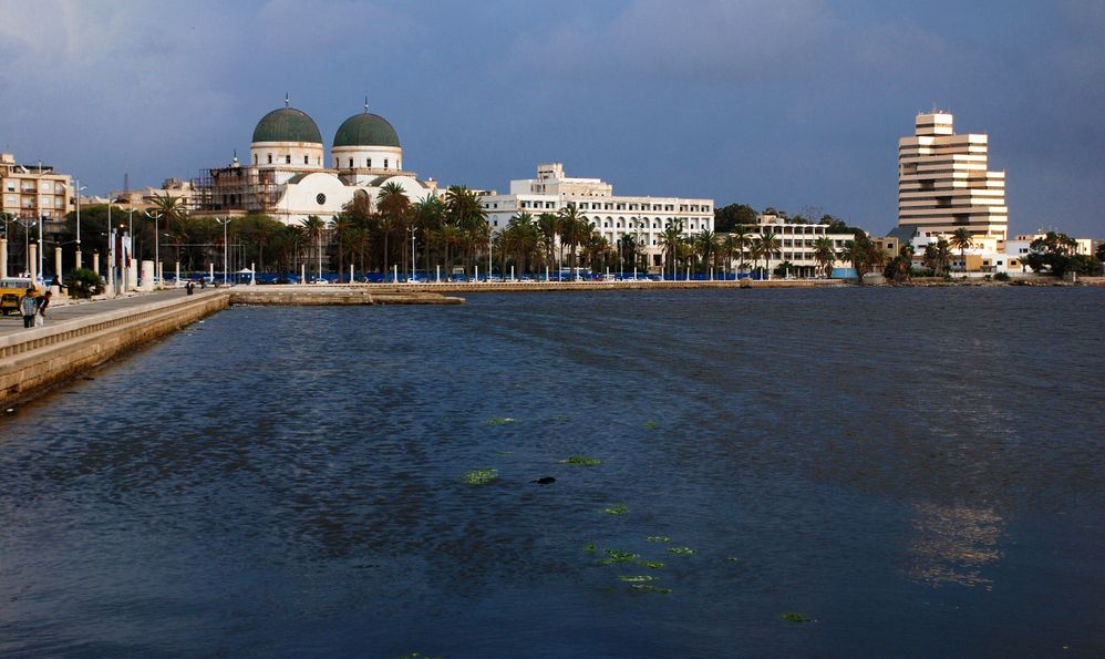 Look at the port of Benghazi.