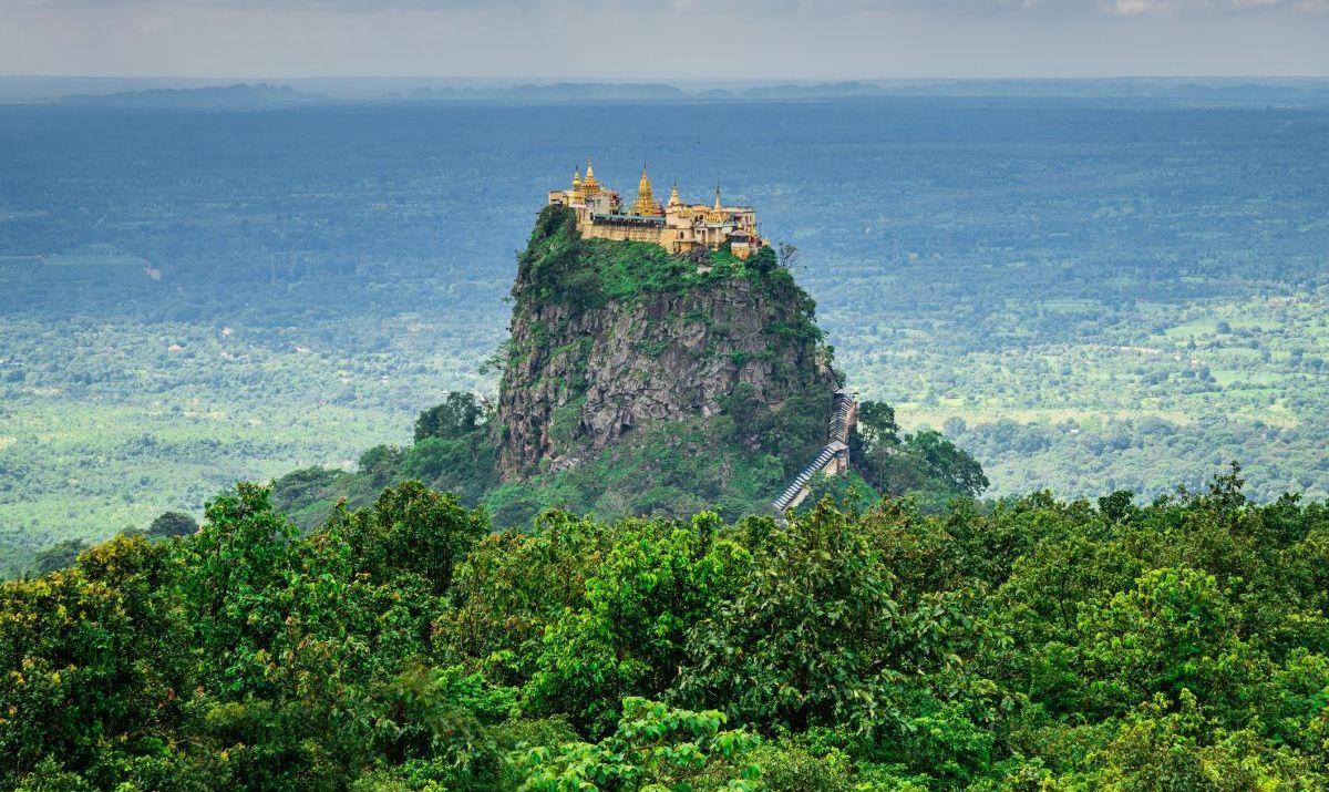 The Taung Kalat Monastery