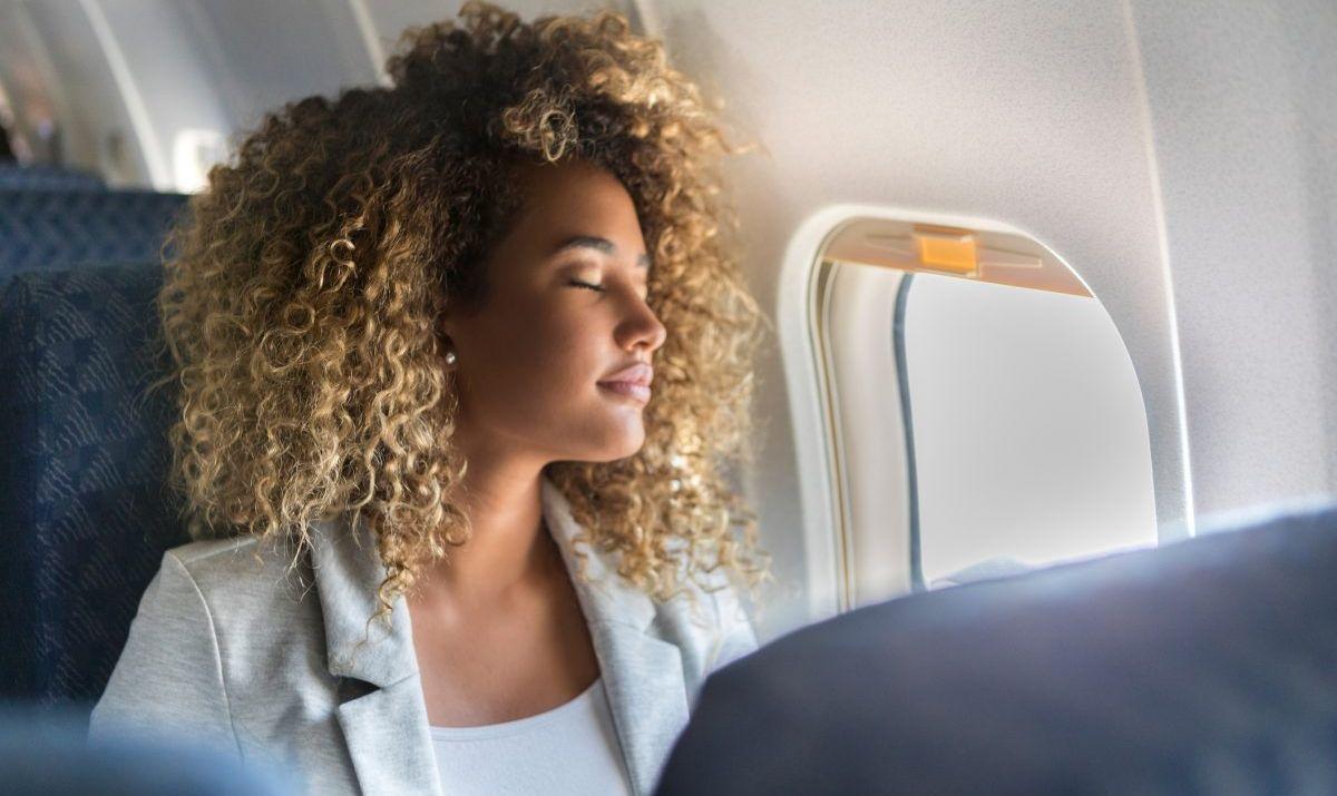 Sleep in a refurbished jumbo jet in Stockholm, Sweden.