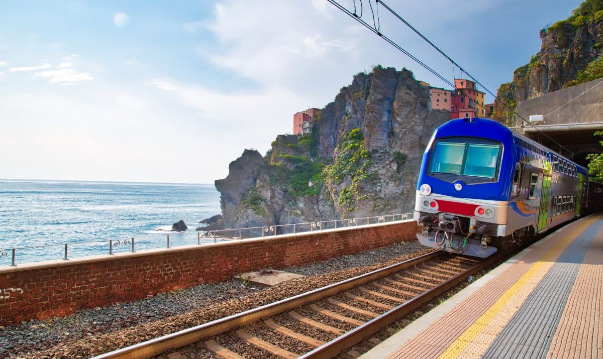 The Cinque Terre Card can cover the cost of train and bus fare.