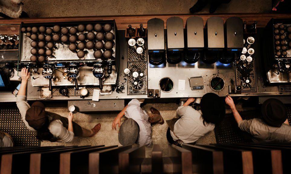 A newly opened Starbucks