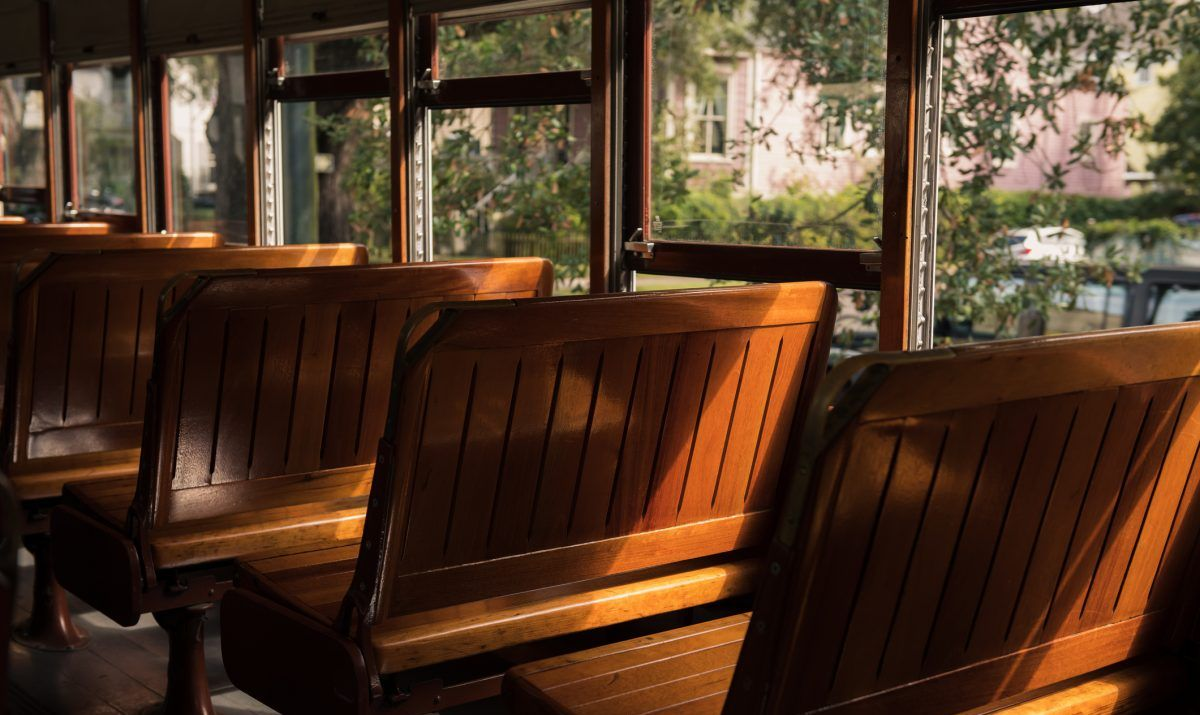 Ride a historical trolley car