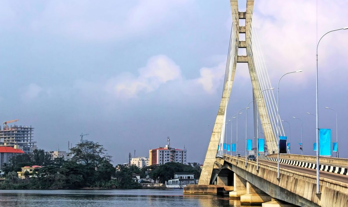The Lekki Ikoyi Bridge in Lagos