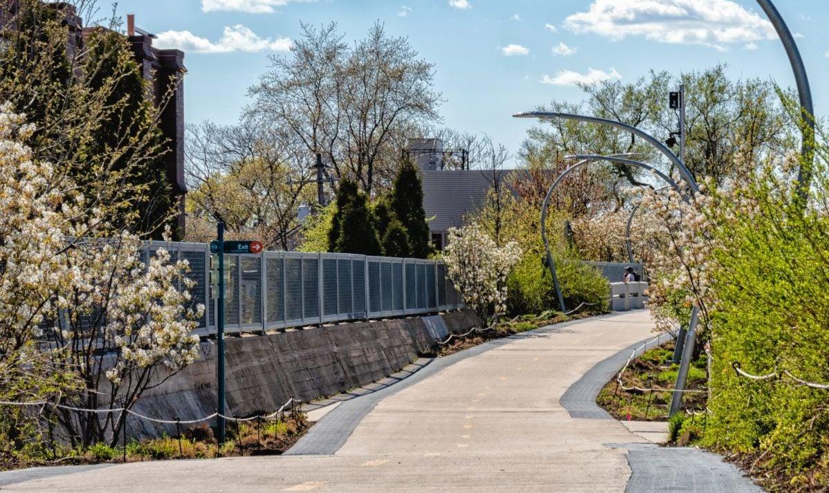 Humboldt Park Walkway