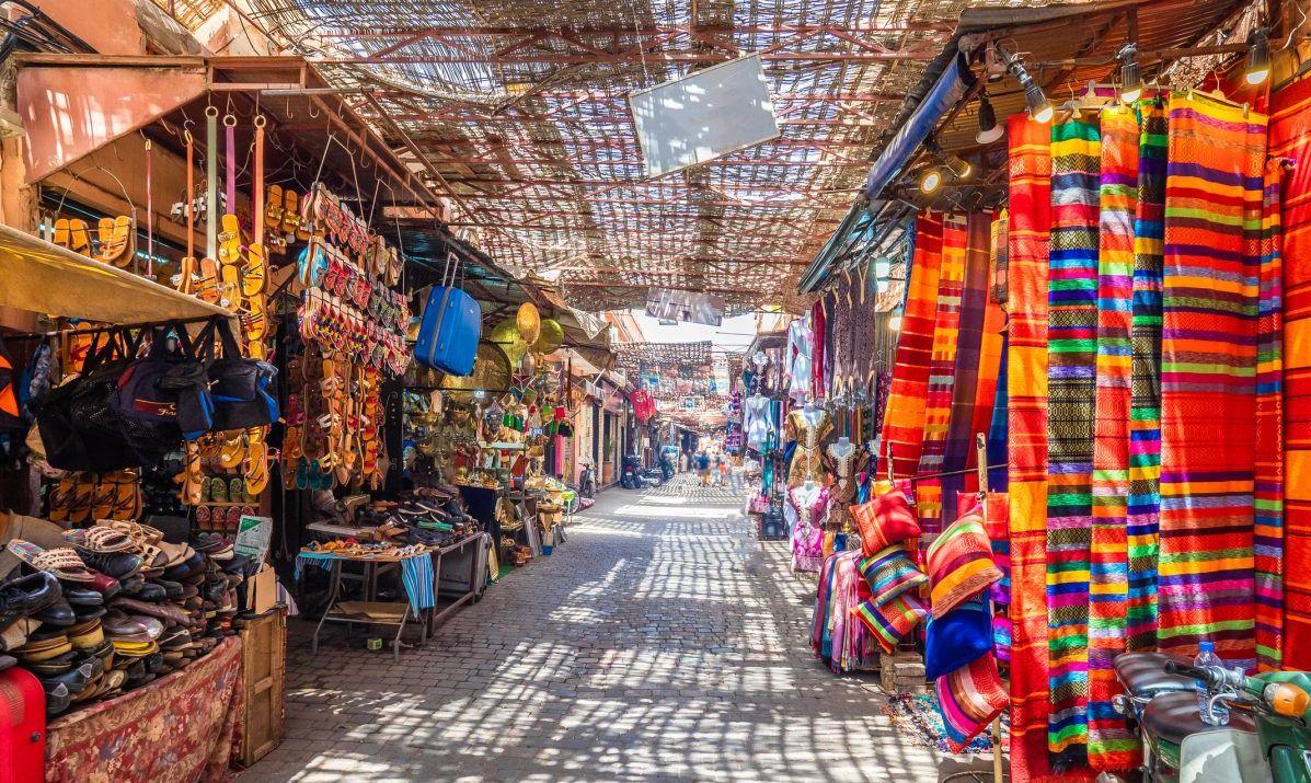 african market stalls