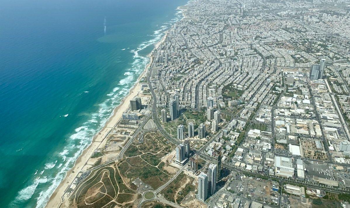The Tel Aviv oceanfront