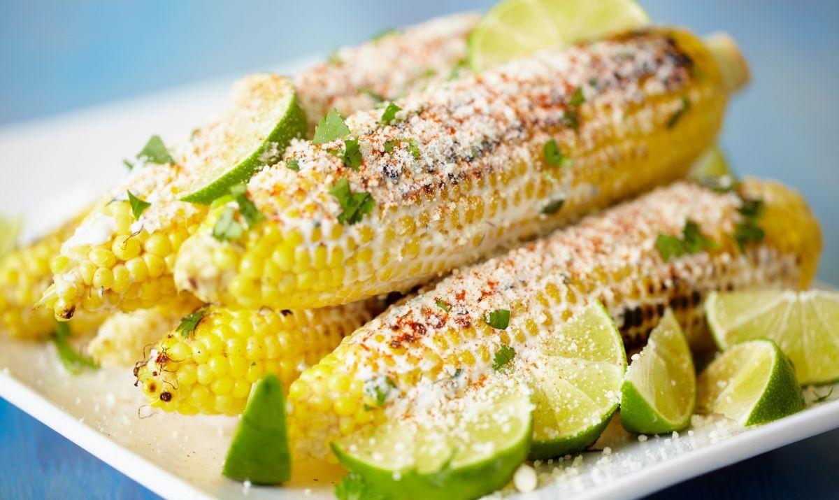 tajin chile-lime on corn
