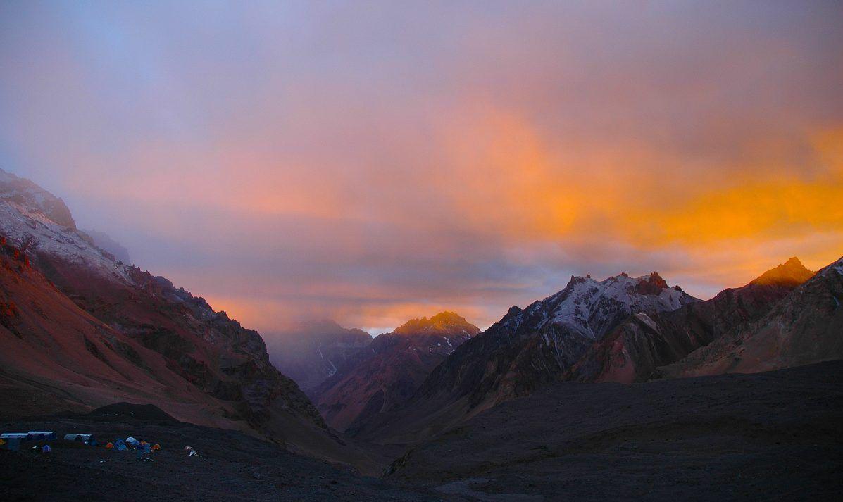 Aconcagua, Argentina Clouds
