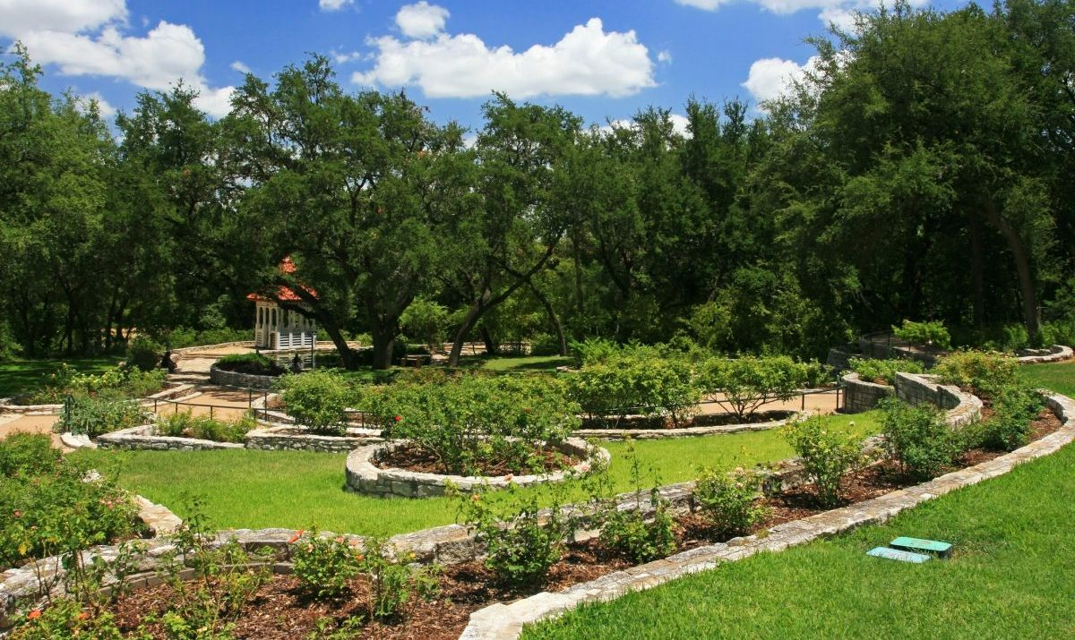 The fairytale world of the Zilker Gardens