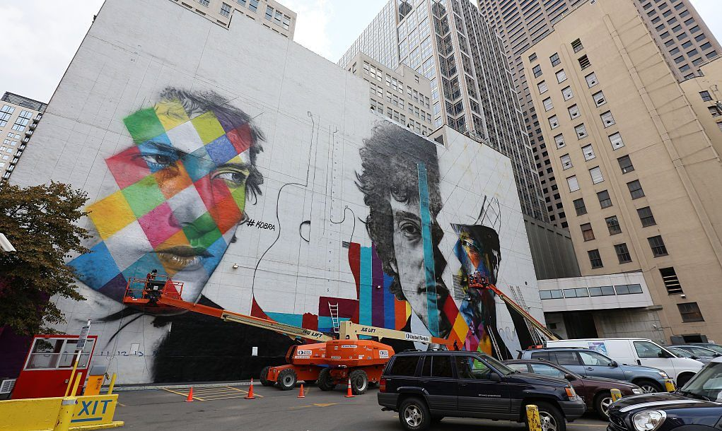 downtown minneapolis dylan mural