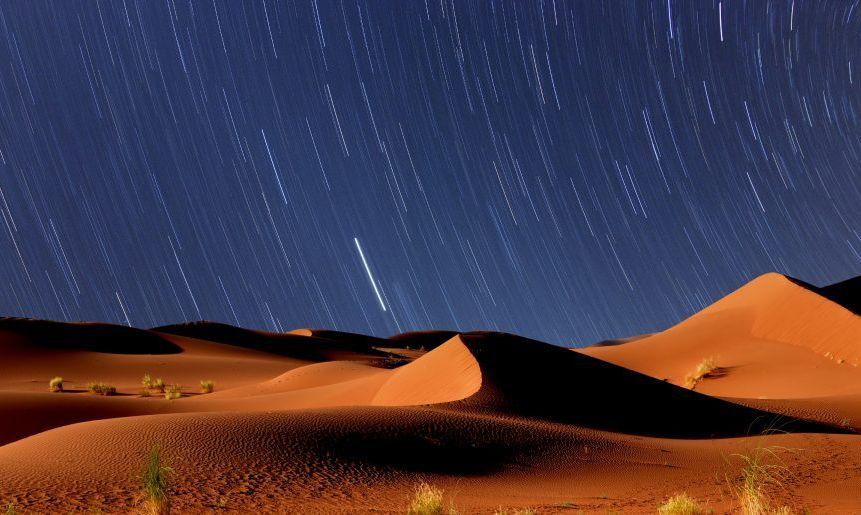 Sahara starscape.