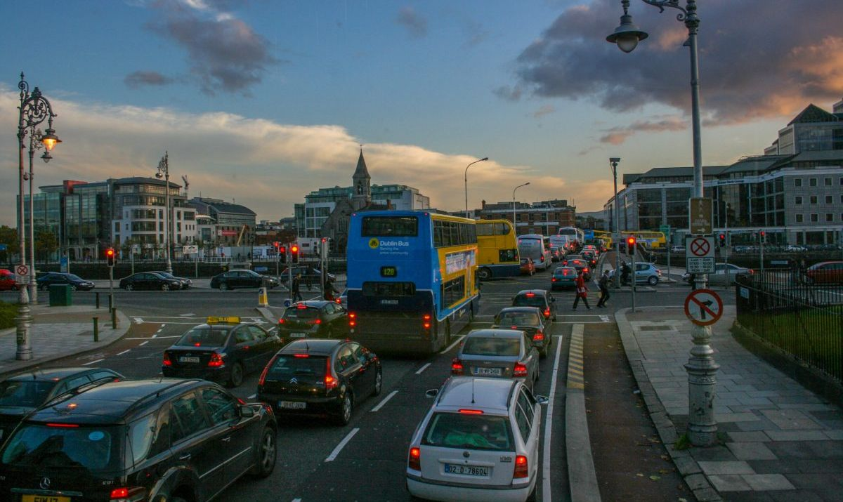 Dublin Ireland Traffic