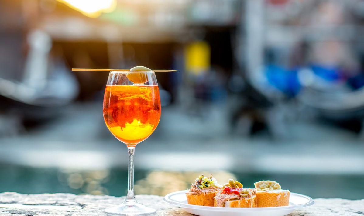 Aperol Spritz in Italy